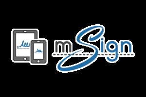 mSign Logo