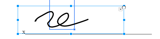 Step9B: Cursor resizing signature