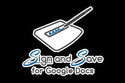 Google Docs Signature | Sign and Save Google Docs signature add-on