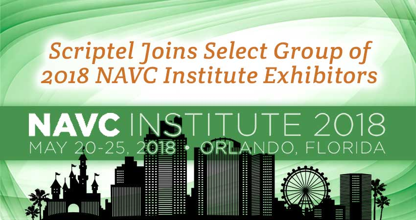 Scriptel Joins Select Group of 2018 NAVC Institute Exhibitors
