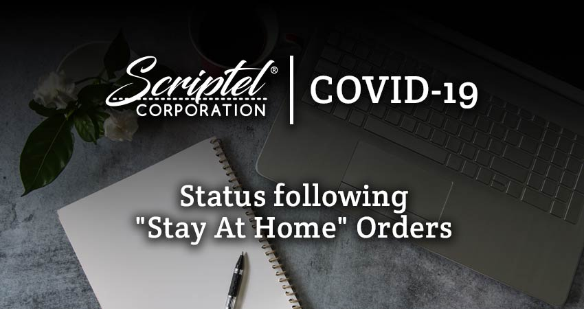 """COVID-19: Status following """"Stay At Home"""" Orders"""